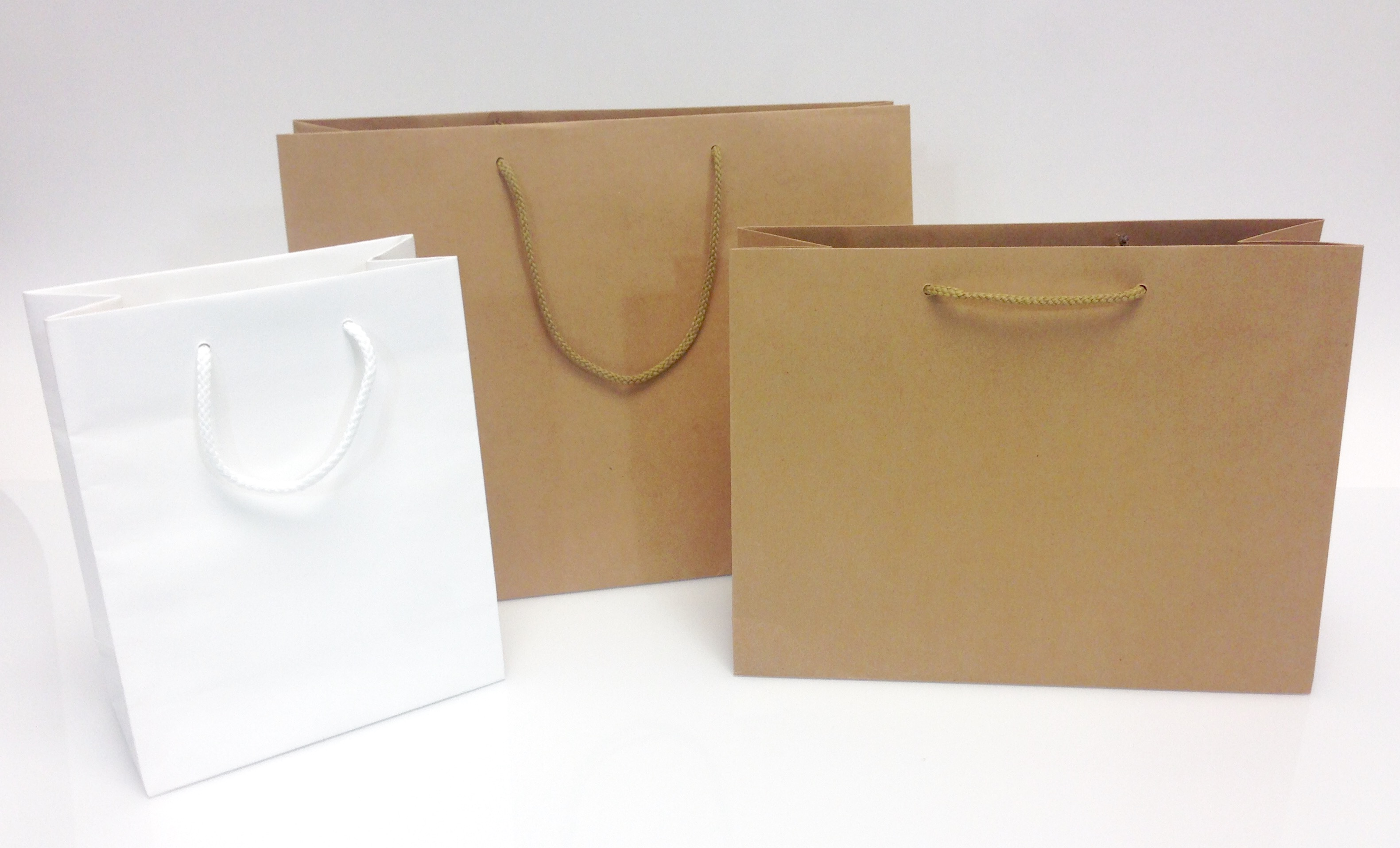 In-Stock Eco-Friendly Shopping Bags | Splash Packaging