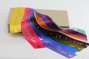 Custom Foil Hot Stamp Ribbon