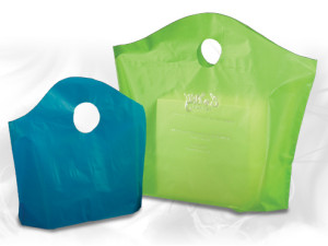 High density plastic wavetop bags