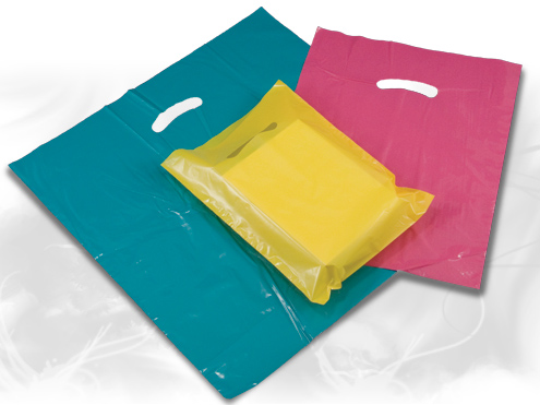 Recyclable Super Gloss Plastic Bags