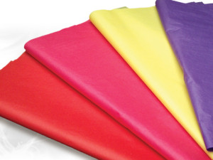 SatinWrap solid color tissue paper